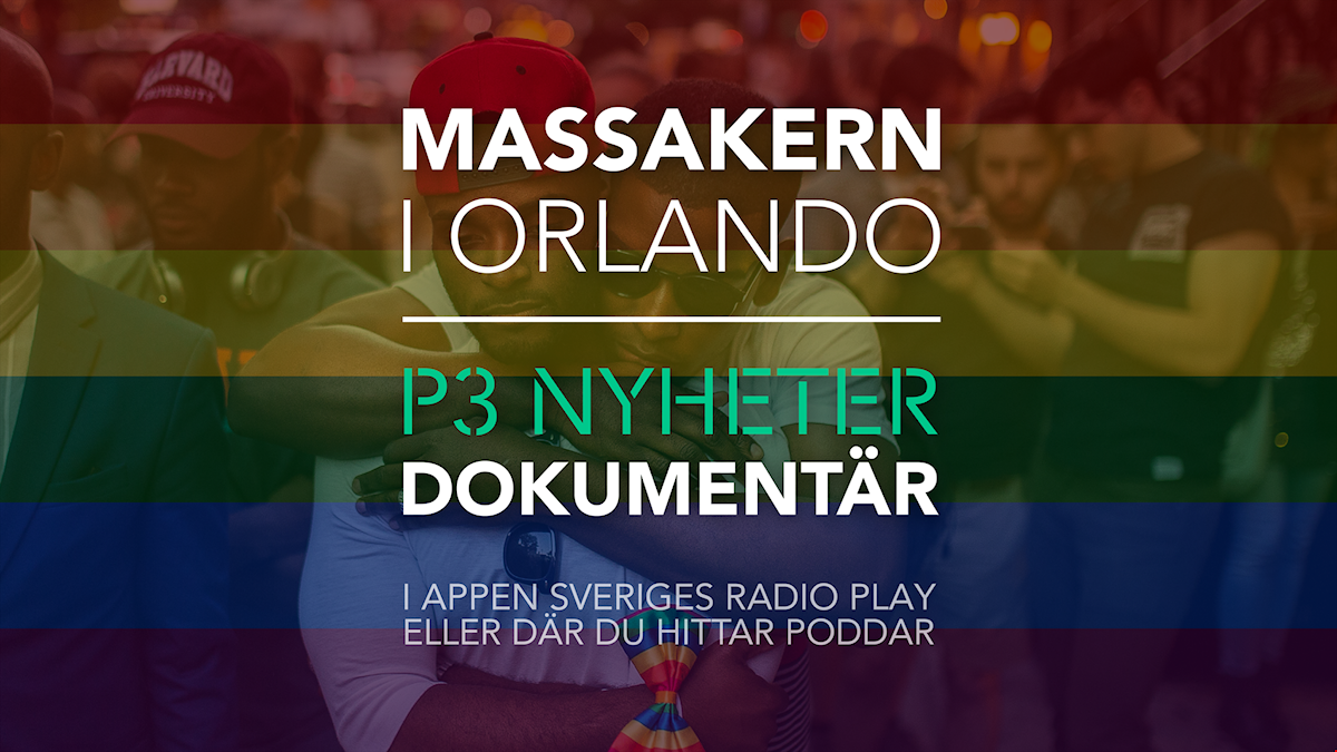 Bild med texten Massakern i Orlando