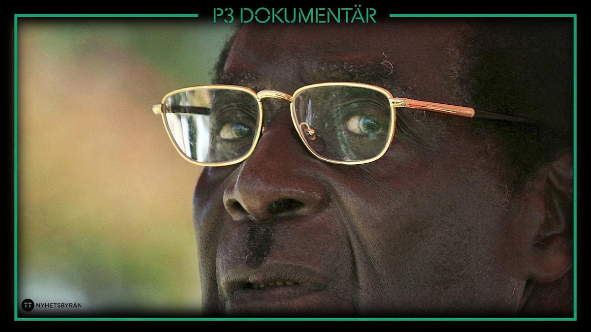 Porträtt av Robert Mugabe