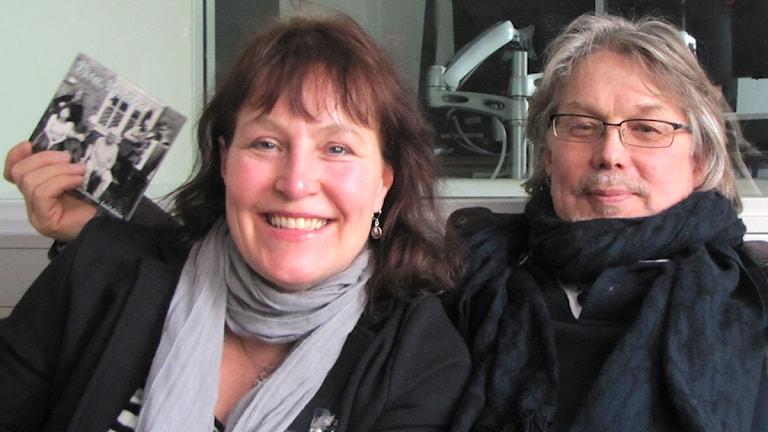 Elina Söderströn ja Esa Rautiainen ja uusi levy Foto: Kirsi Blomberg Sveriges Radio Sisuradio