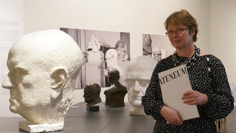 Riitta Ojanperä Ateneumin kokoelmahallintajohtaja Foto Kirsi Blomberg Sveriges Radio Sisuradio