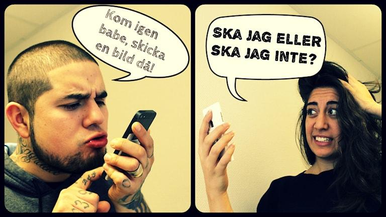 När är det ett sexbrott, och när ska man anmäla? I dagens show pratar vi om hur man ska göra om det händer en själv. Foto: Gustaf Widegård/SR