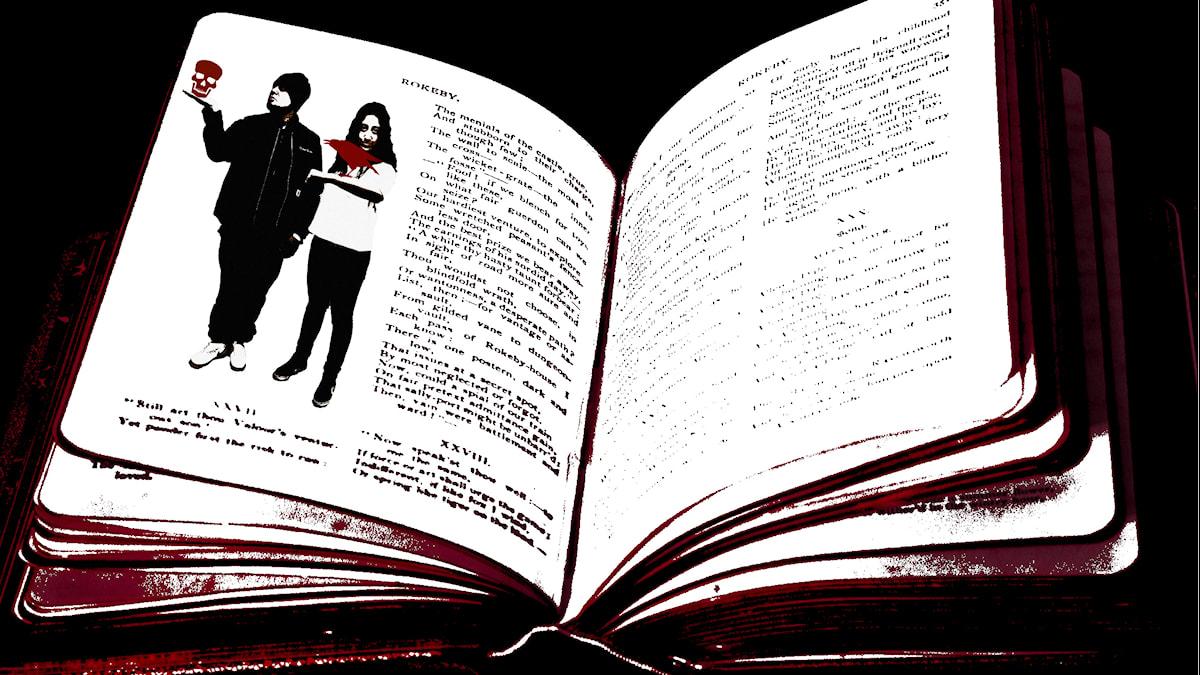 Juan och Suzi är en del av historiens mest kända böcker. Foto: Stephanie Londéz/SR och  Brenda Clarke/Flickr/CC BY 2.0