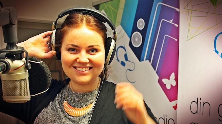 Johanna Jingnert är ursprungligen från Göteborg men flyttade ner till Skåne för att plugga. Foto: Juan Havana/SR