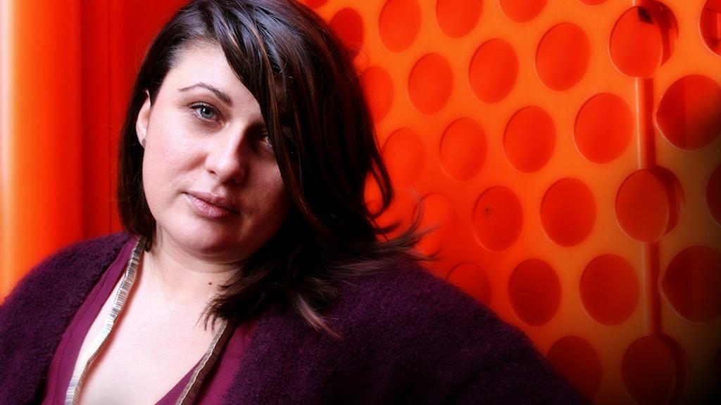 Danina Mahmutovic, kanalproducent på Din gata. Foto: Stephanie Londéz/SR