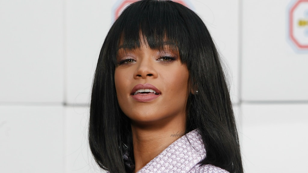 Rihannas nya låt börjar spelas på Din Gata denna veckan. Foto: Thiabult Camus/TT