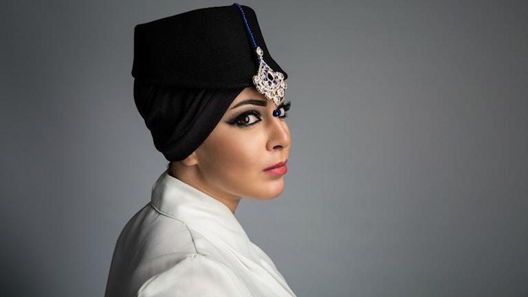 Bild på designern Iman Aldebe
