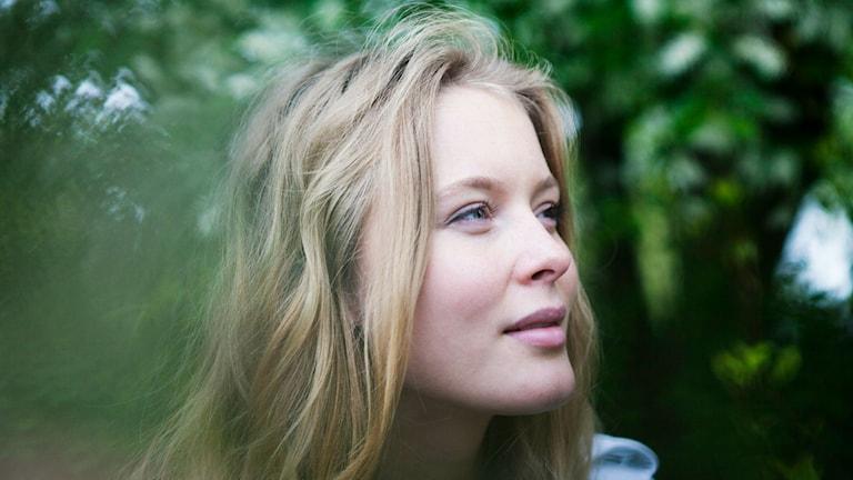Bild på Zara Larsson. Foto:Robin Haldert / TT