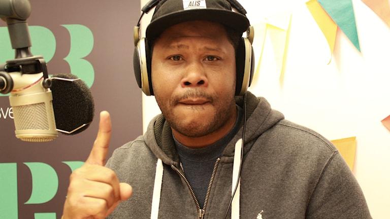 Bild på rapparen Maylay Sparks.
