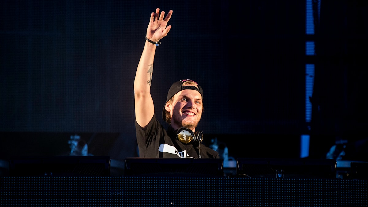 Bild på Avicii som DJ:ar. Foto: Christine Olsson/TT