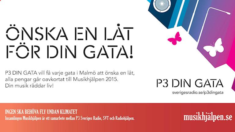 P3 Din Gata för Musikhjälpen. BIld: SR