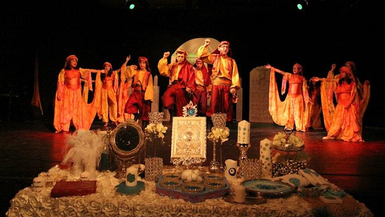 Bild på Aram Dance Theatre. Foto: Ameen Al Khateeb