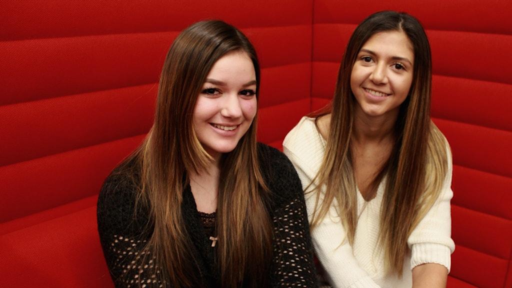 Vanessa och Cassandra har startat företaget Ung Bemanning.