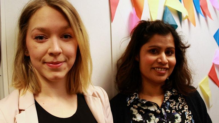 Bild på Sandra Johannis och Desiree Jonsson från Ung I Sommar