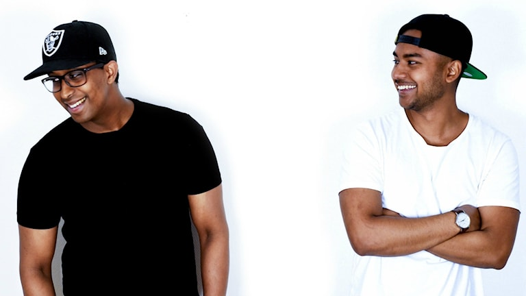 Melles & Illjas står för kvällens DJ-show.