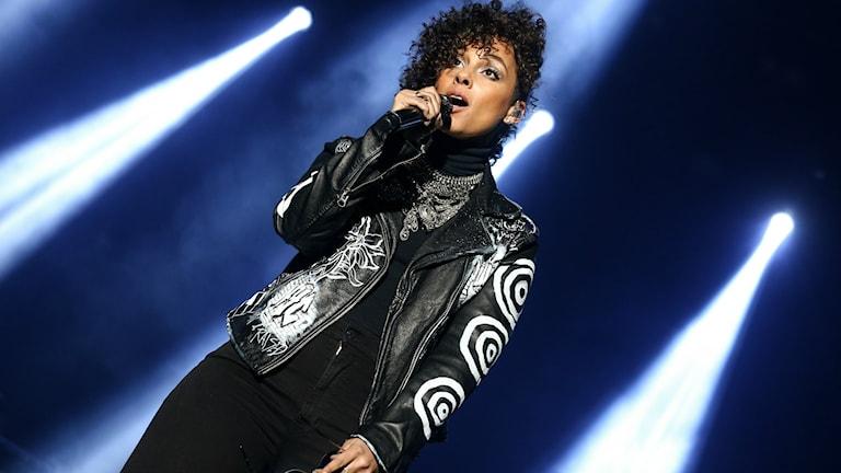 Alicia Keys på scen