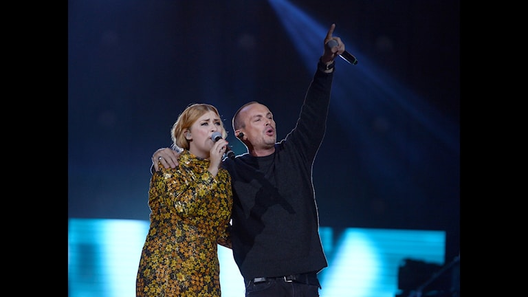 Linnea Henriksson och Petter