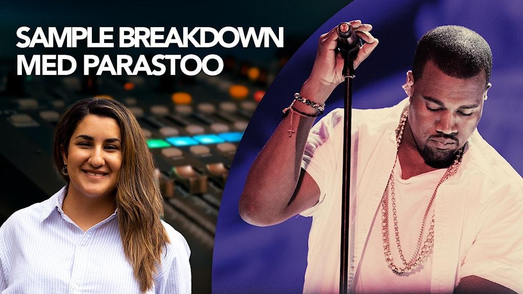 Parastoo och Kanye West
