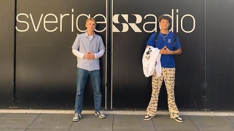 Joel Söderberg och Papi Santana