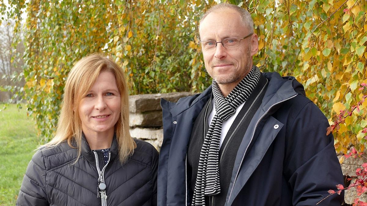 Malin Nordström och Patrik Annerud