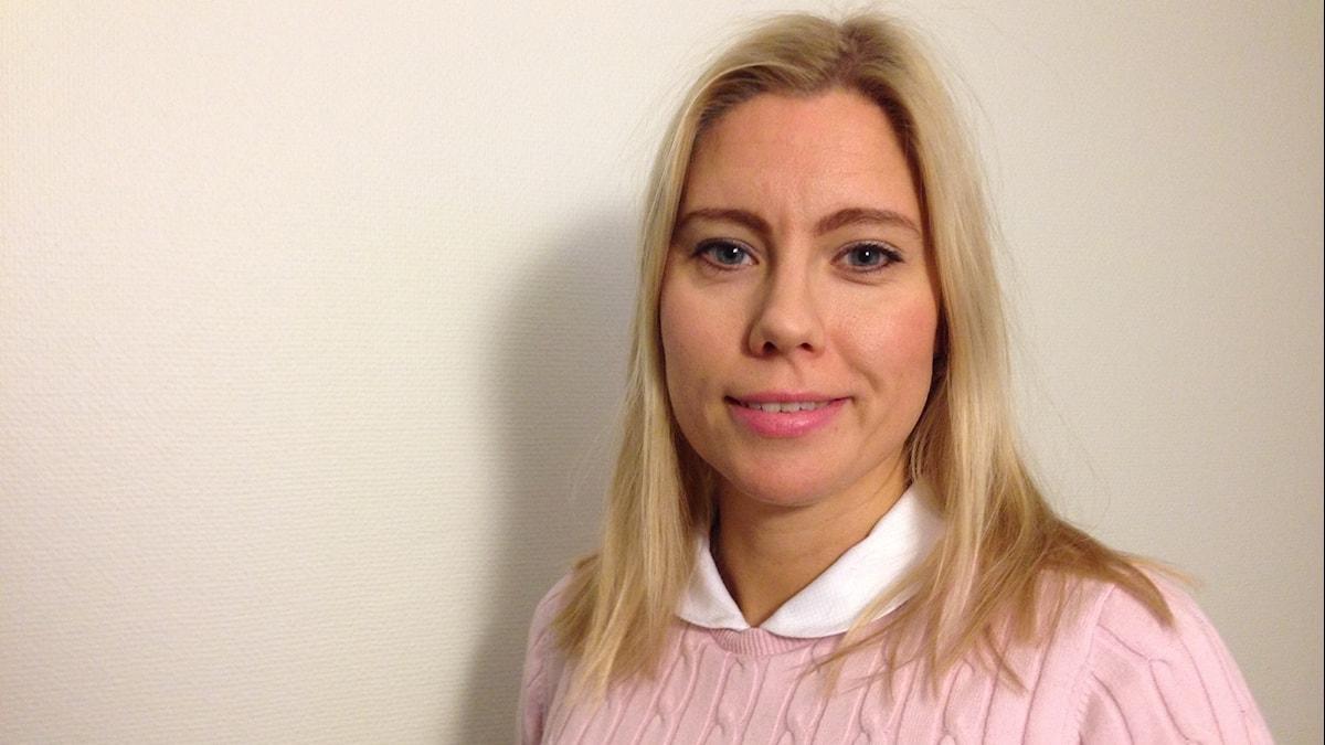 Jonna Buachan. Kuva: Ida Brännström / Sveriges Radio.