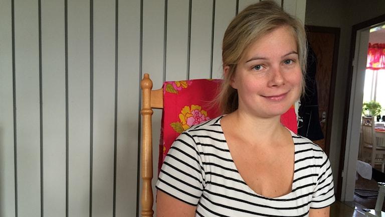 Carola Alm, Kuva: Ida Brännström / Sveriges Radio