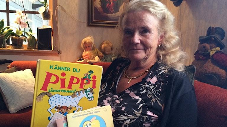 Kerstin Tuomas Larsson, Kuva: Pia Lakkapää/ Sveriges Radio