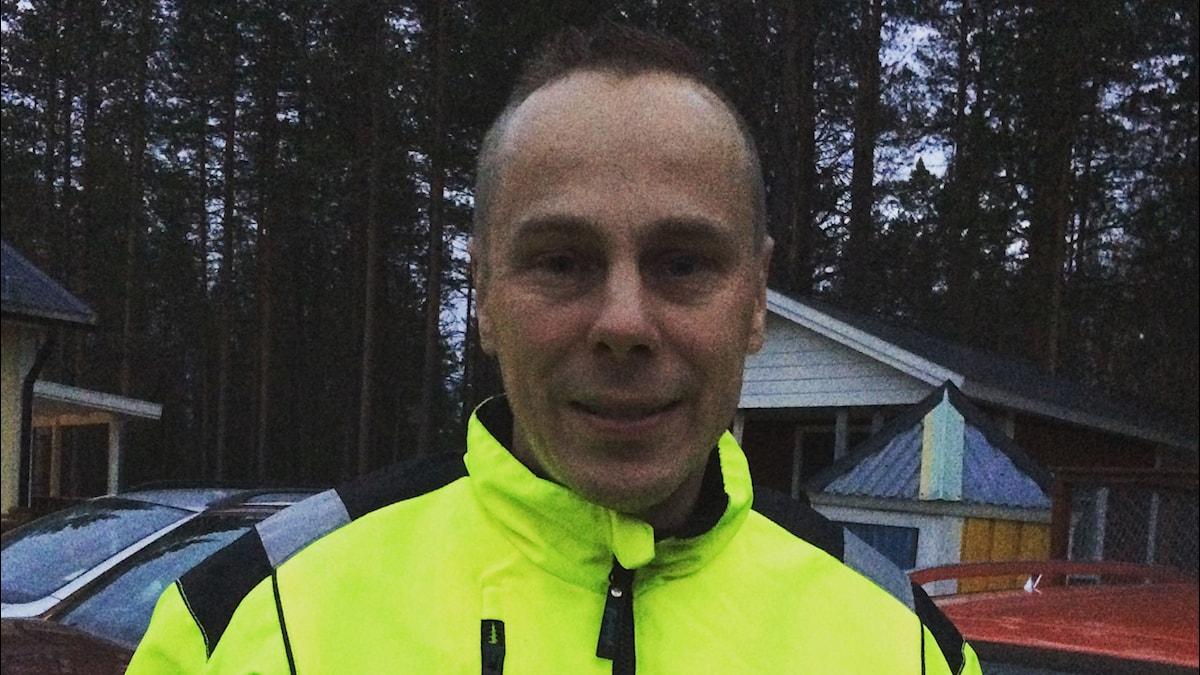 Anders Niemi, Kuva: Pia Lakkapää / Sveriges Radio
