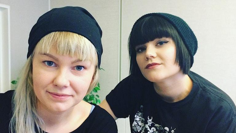 The Magnettes, Kuva: Pia Lakkapää/ Sveriges Radio