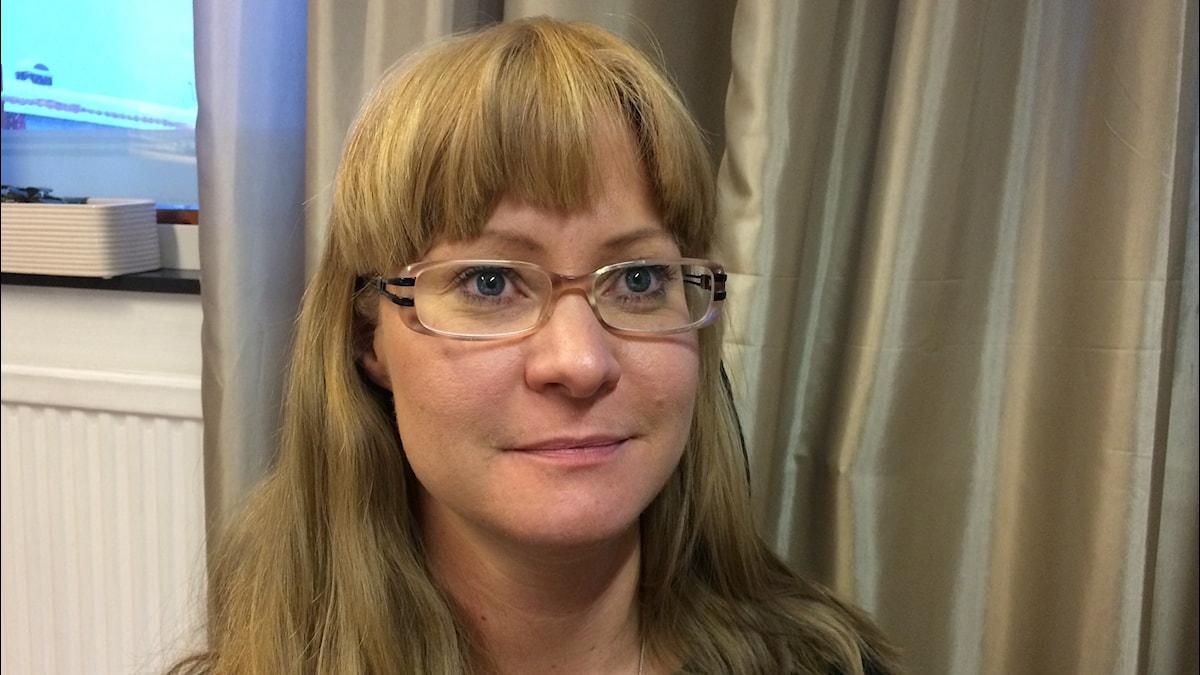 Suvi Tyrväinen, Kuva: Pia Lakkapää / Sveriges Radio