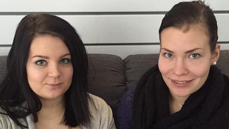 Elina Rautio ja Sanna Vähäkangas