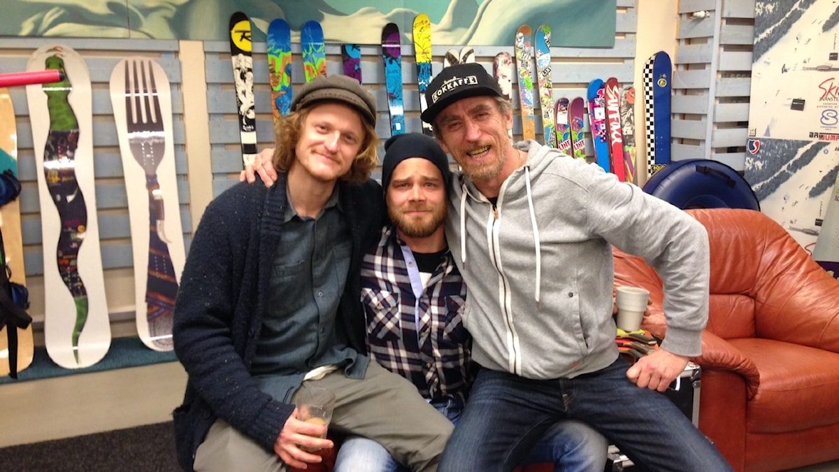 Snowboardfantastit David, Arto ja Iki