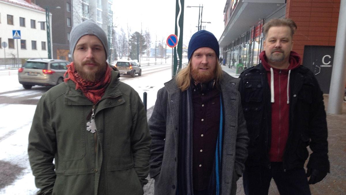 Sami Bergman, Adam Huuva ja Jani Bergman