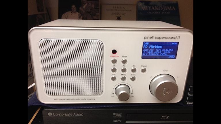 DAB-radio med P2 Världen, dygnet runt