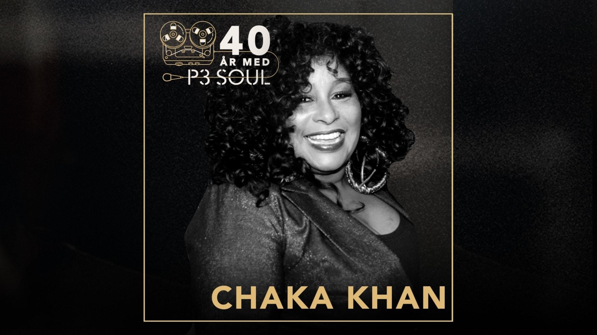 40 år med P3 Soul: Chaka Khan