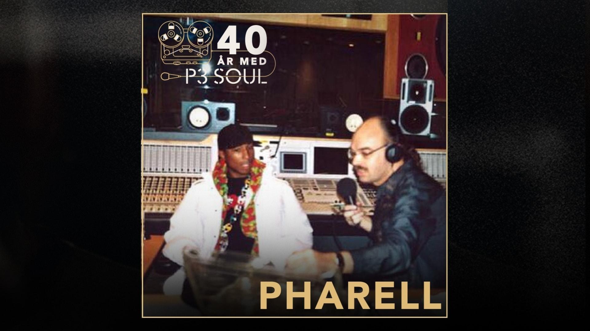 40 år med P3 Soul: Pharrell Williams