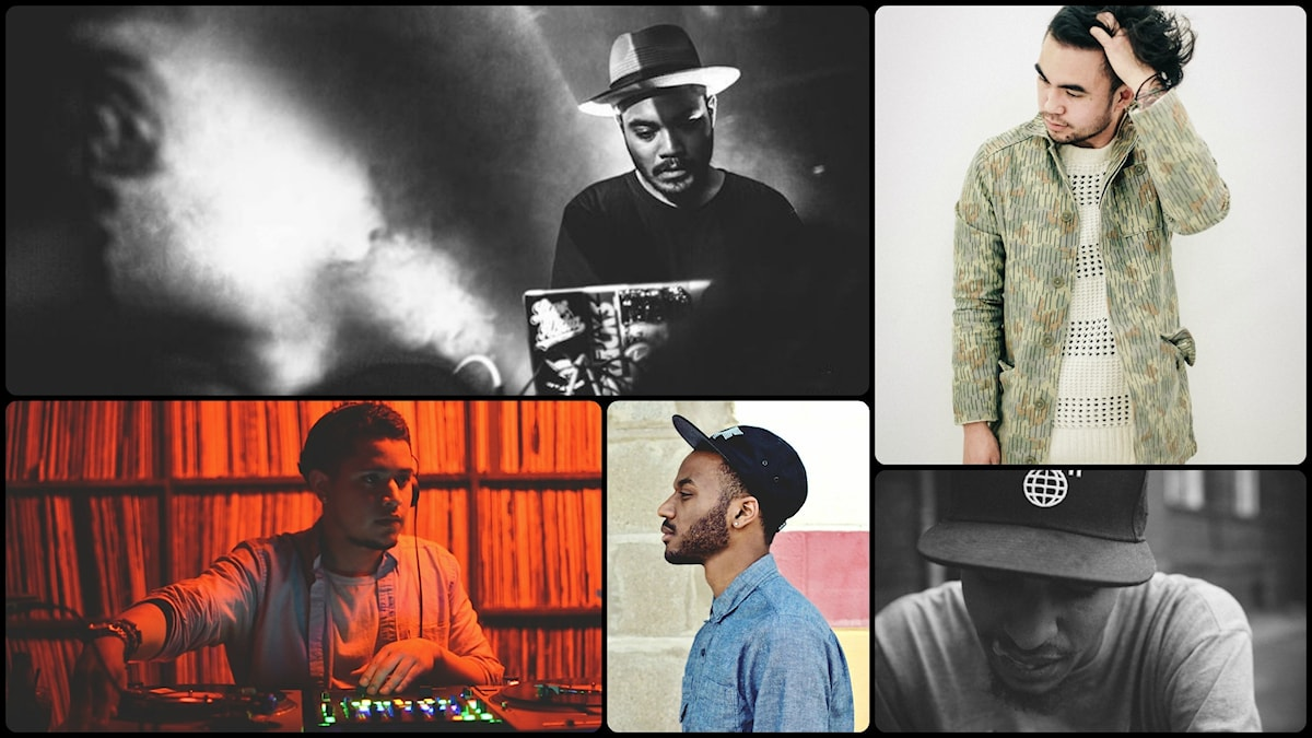 Mr Carmack, Esta, Joe Kay, Sango och Iamnobodi. Foto: Windish Agency/Soulection