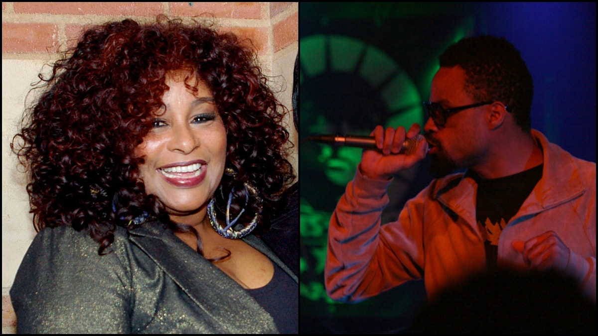 Chaka Khan och Bilal. Foto: Wikimedia commons/Angela George/CC BY-SA 3.0 och Wikimedia commons/ Gergely Csatari/ CC BY-SA 2.0