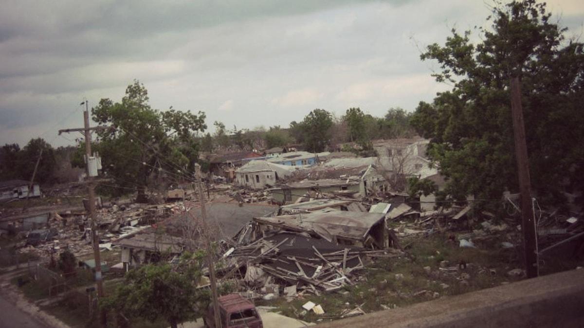 Resterna efter orkanen Katrina, 2005. Foto: Flickr/Prince Roy/(CC BY 2.0