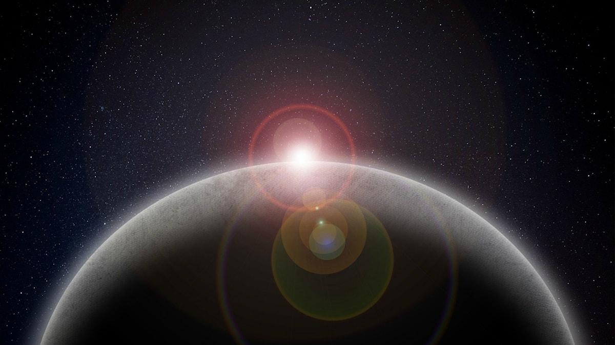 Bild på en planet
