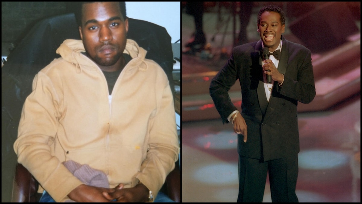 Kanye West + Luther Vandross