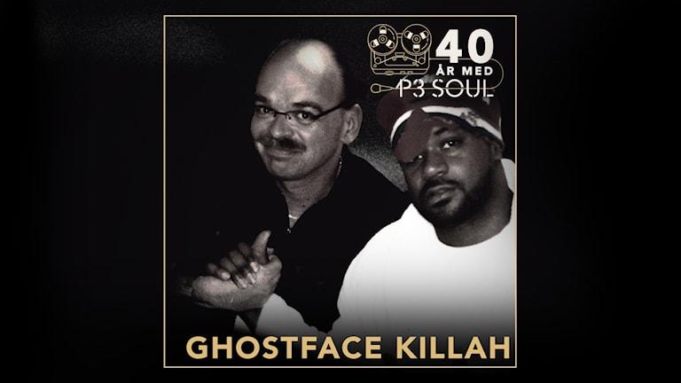 40 år med P3 Soul: Ghostface Killah