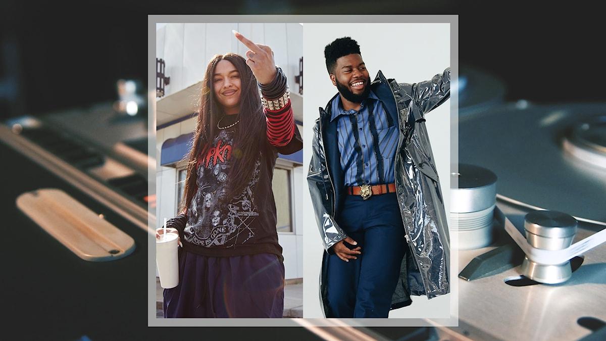 Artisterna Princess Nokia och Khalid
