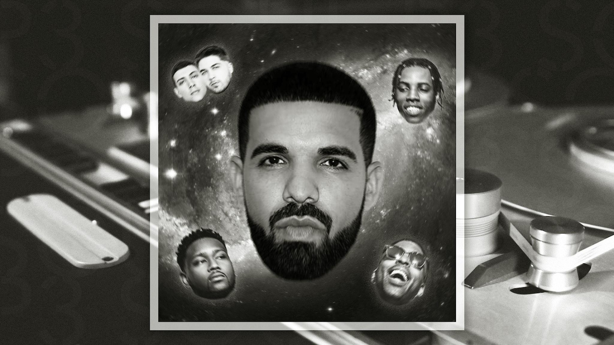 Bild på Drake, Majid Jordan, Boi-1da, dvsn och Roy Woods