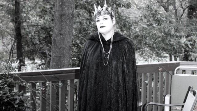 Annika Bohn firar Halloween