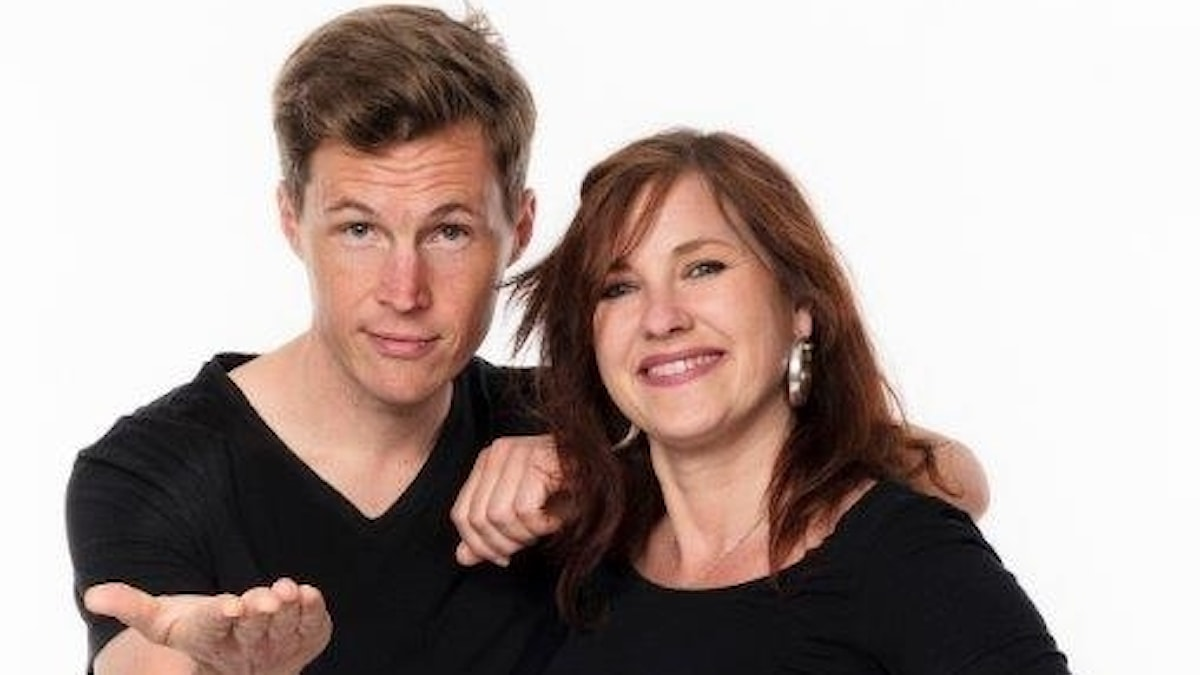 Peter Sundberg och Wivianne Svedberg
