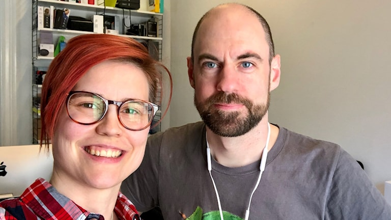 Ida Blix och Jakob Nilsson, teknikjournalister.