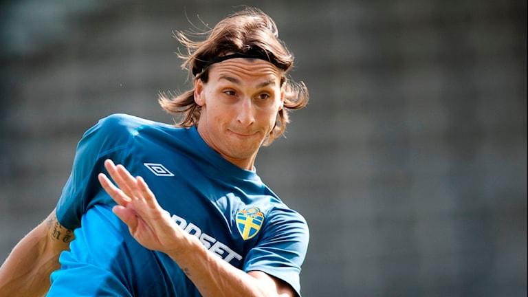 Zlatan- Ingen kickar fotboll som han men han är även en flitig jägare.