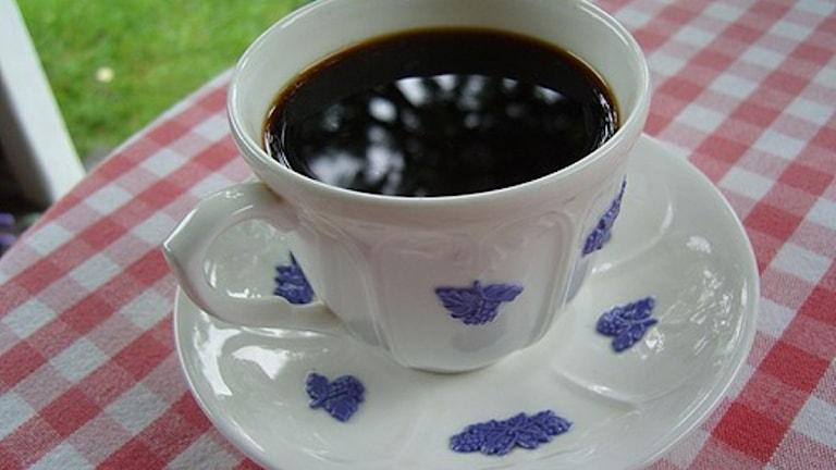Kaffe ett av livets måsten. Foto: SVT Bild