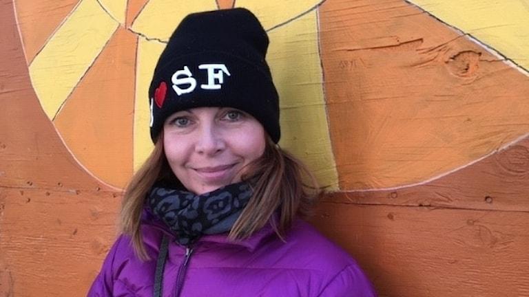 Maria Svemark i San Francisco