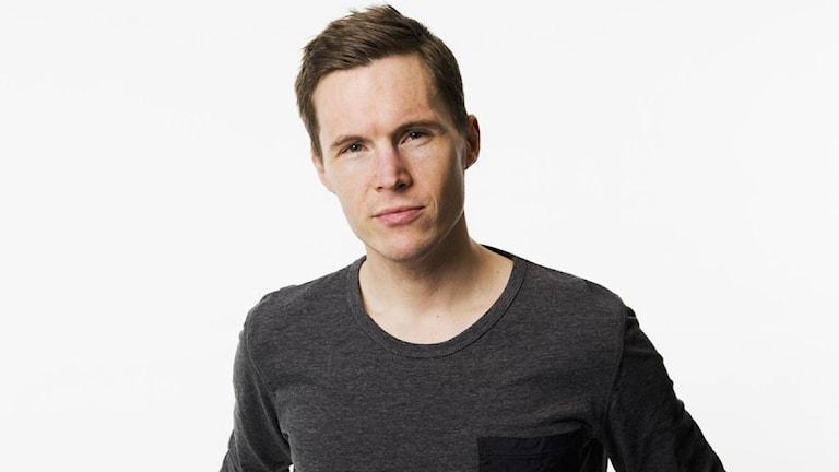 Peter Sundberg, programledare för Vaken med P3 och P4. Foto: Mattias Ahlm/Sveriges Radio